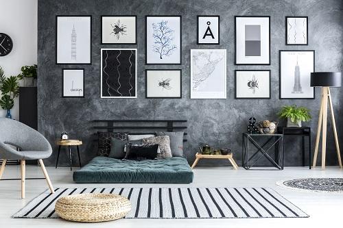 tapis de luxe design